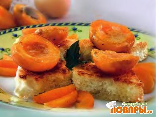 Рецепт Тартинки с абрикосами