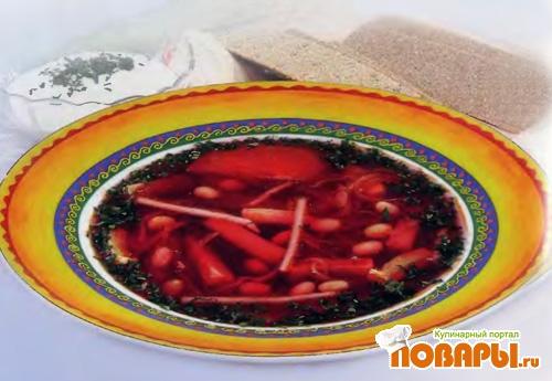 Рецепт Борщ черниговский