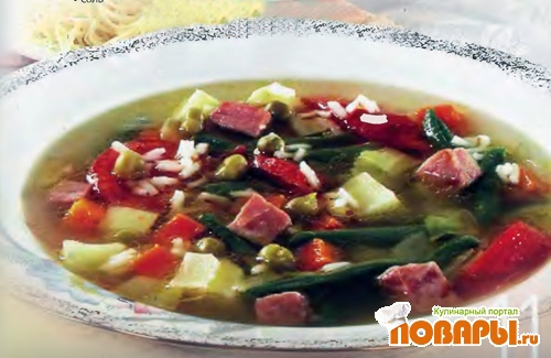 Рецепт Суп «Минестра»