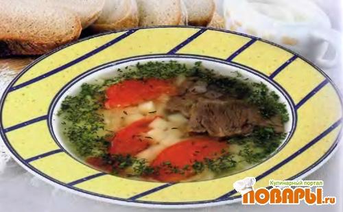 Рецепт Суп острый с картофелем и рисом