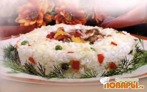 Рецепт Сырное рагу с рисом