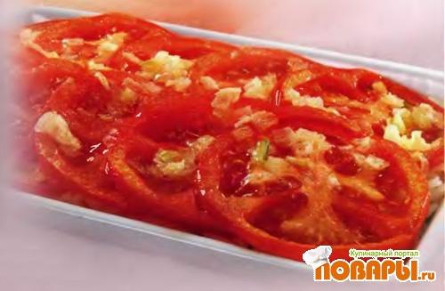 Рецепт Запеканка из риса с помидорами