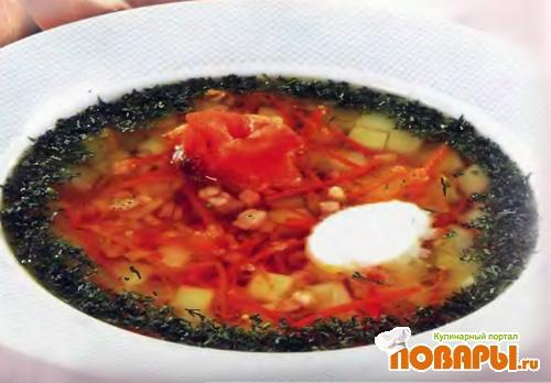 Рецепт Суп картофельный с лососем
