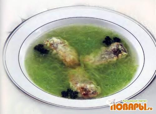 Рецепт Щи из свежей капусты с рыбой