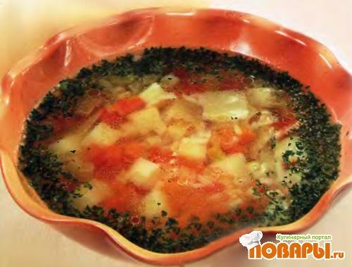 Рецепт Рисовый суп с овощами
