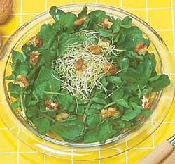 Рецепт Салат осенний из одуванчика
