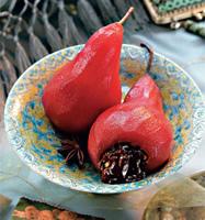Рецепт Груши «помпадур» (они же груши, фаршированные шоколадом)