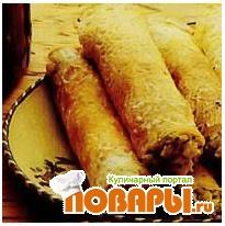 Рецепт Блины с картофельной начинкой
