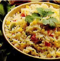 Рецепт Рис с йогуртом (Дахи бхат)