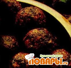 Рецепт Сырные шарики со шпинатом (Палак кофта)