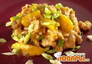 Рецепт Курица с Манго и Тамаринд
