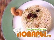 Рецепт Рис с орехами кешью