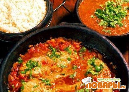 Рецепт Мокека из морепродуктов