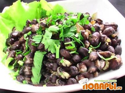 Рецепт Фрихолес (черная фасоль)
