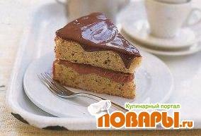 Рецепт Бразильский ореховый торт