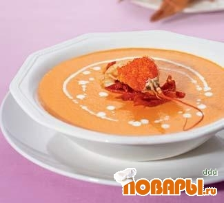 Рецепт Суп-крем из раков