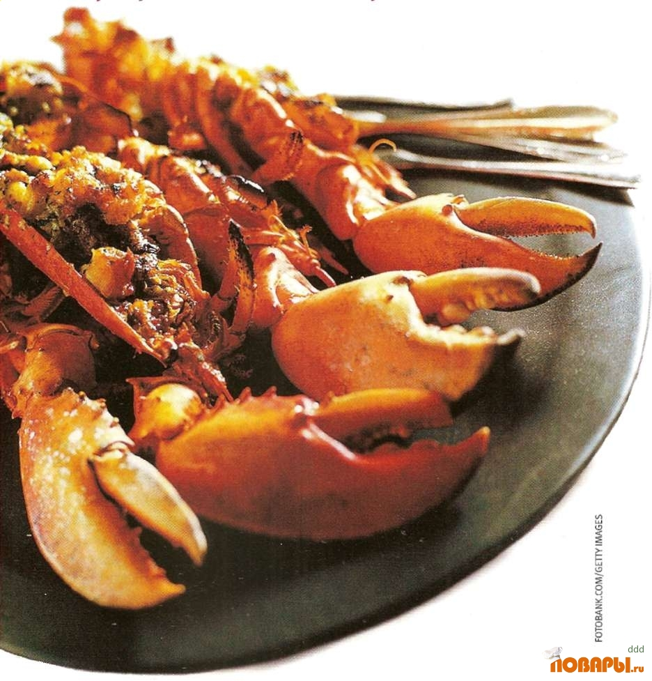 Рецепт Гратин из бретонского омара