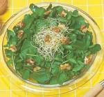 Салат осенний из одуванчика