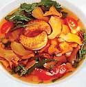 Суп с цветками одуванчика