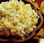 Салат из картофеля и кокоса