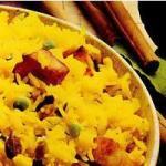 Рис с зеленым горошком и паниром (Матар пулао)
