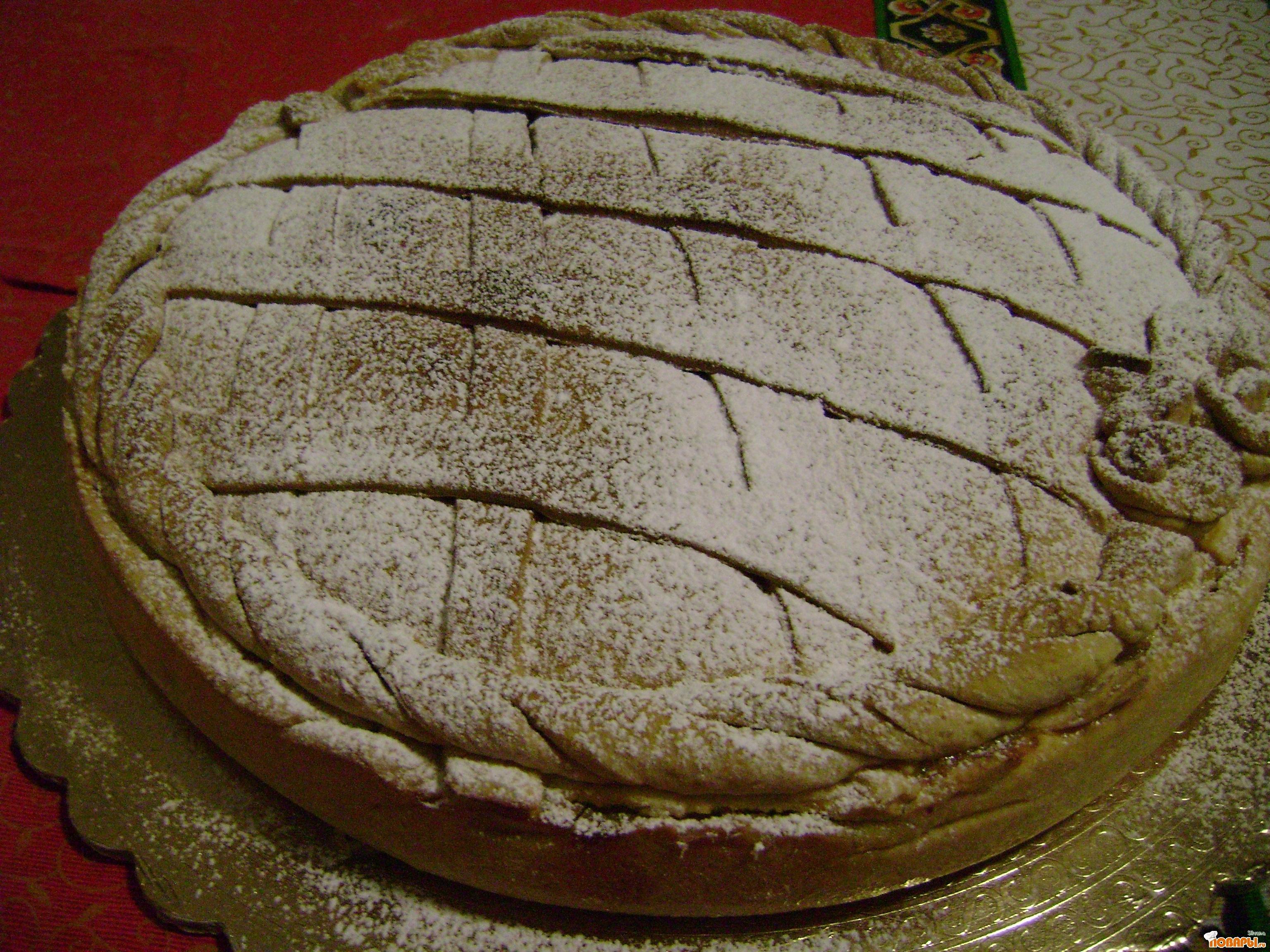 Рецепт Pastiera (Пастьера) -ето традиционное Неаполитанское (Италия)сладкое на Рождество