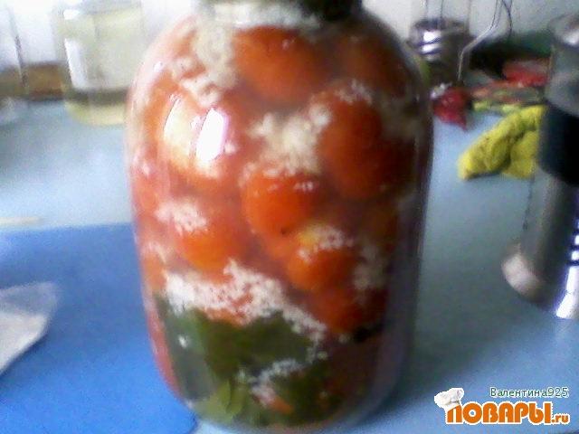 Рецепт помидоры под снегом