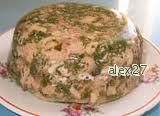 Рецепт Закуска из птицы по-кубански.