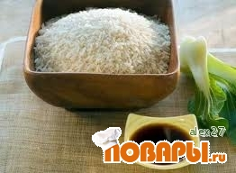 Рецепт Классический японский рис.