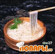 Рецепт Японская лапша - Удон.