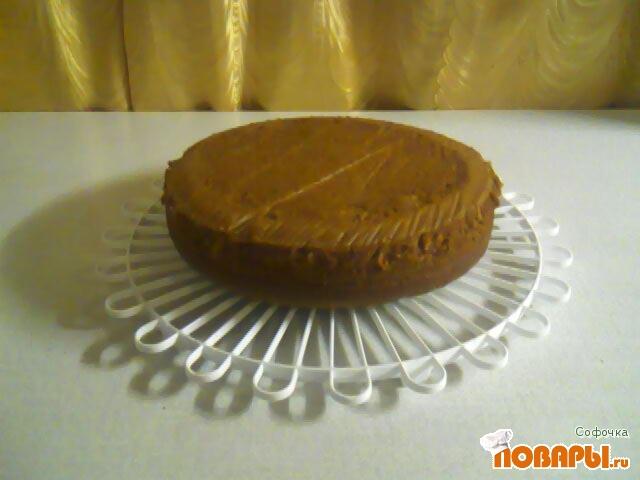 Рецепт бисквит с шоколадом