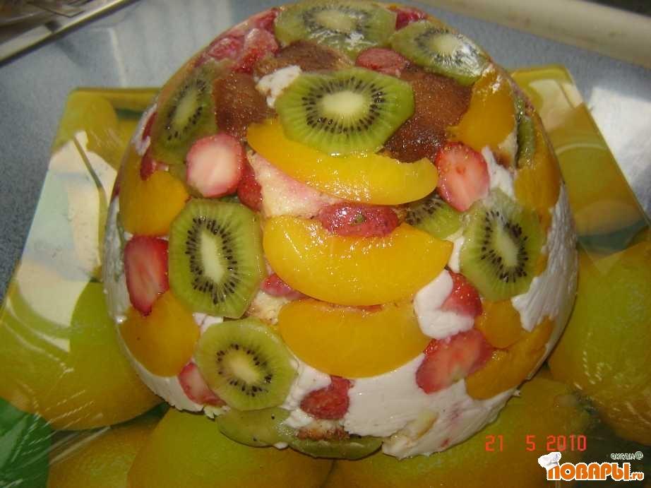 Рецепт тортик Летний