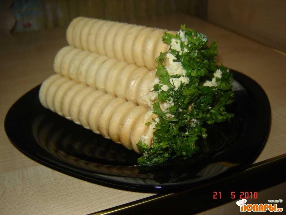 Рецепт Фаршированные трубочки