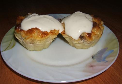 Рецепт Запеканка картофельная с курицей и нрибами