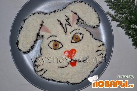 "Рецепт Салат ""Кролик"""