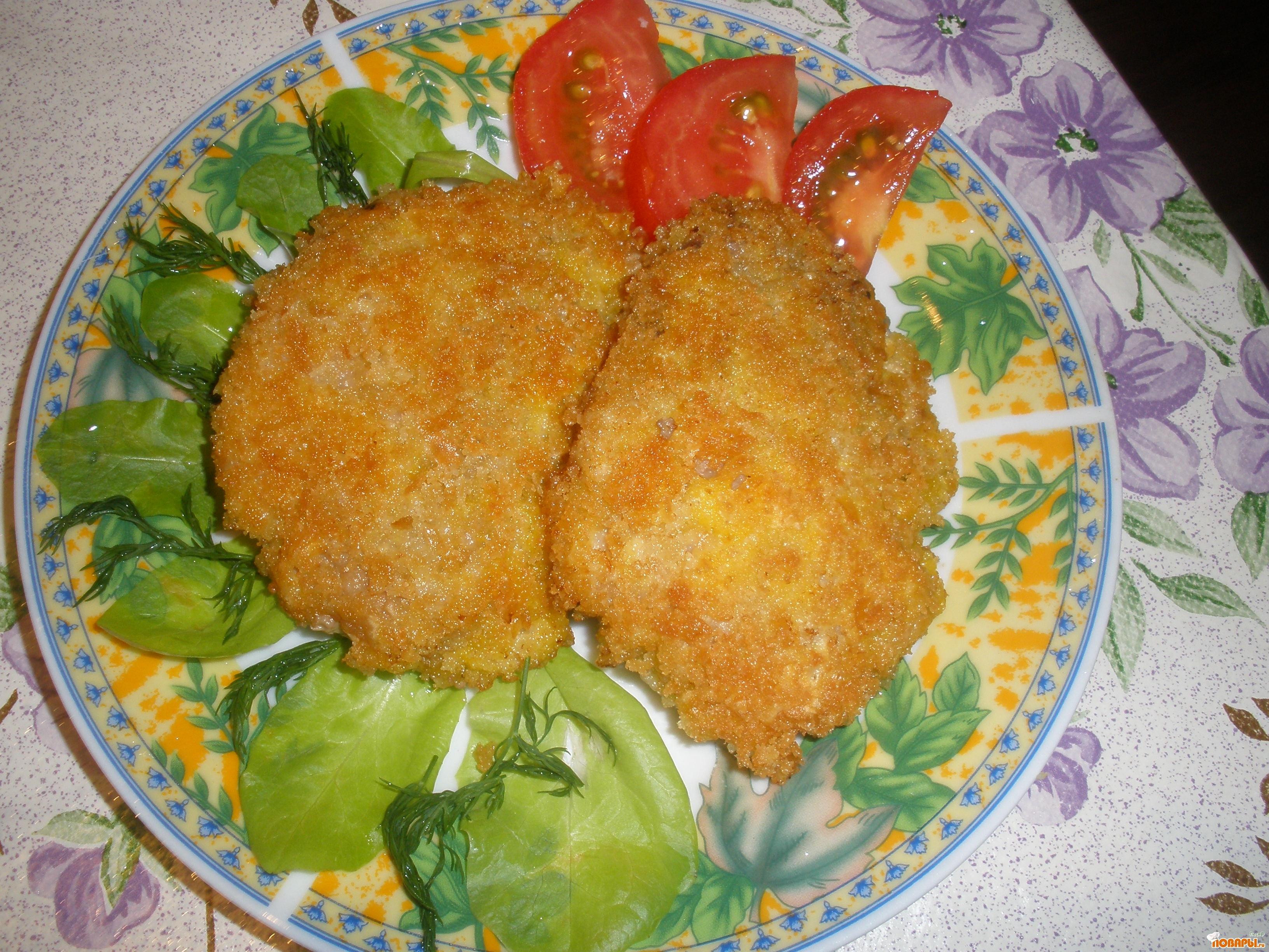 Рецепт Мясо в хрустящей корочке