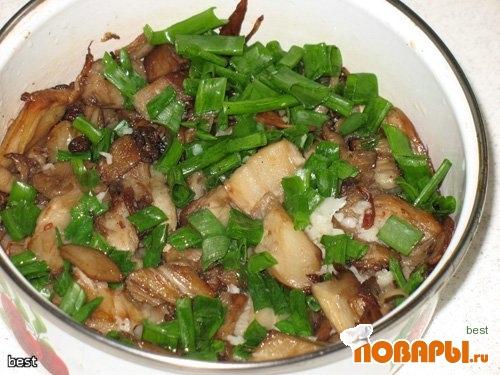 Рецепт Грибочки в чесночном маринаде