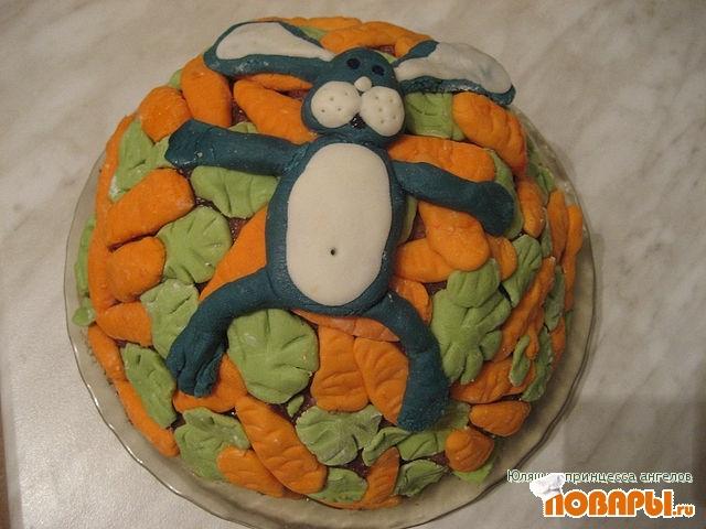 """Рецепт торт """"Зайчик в раю"""""""