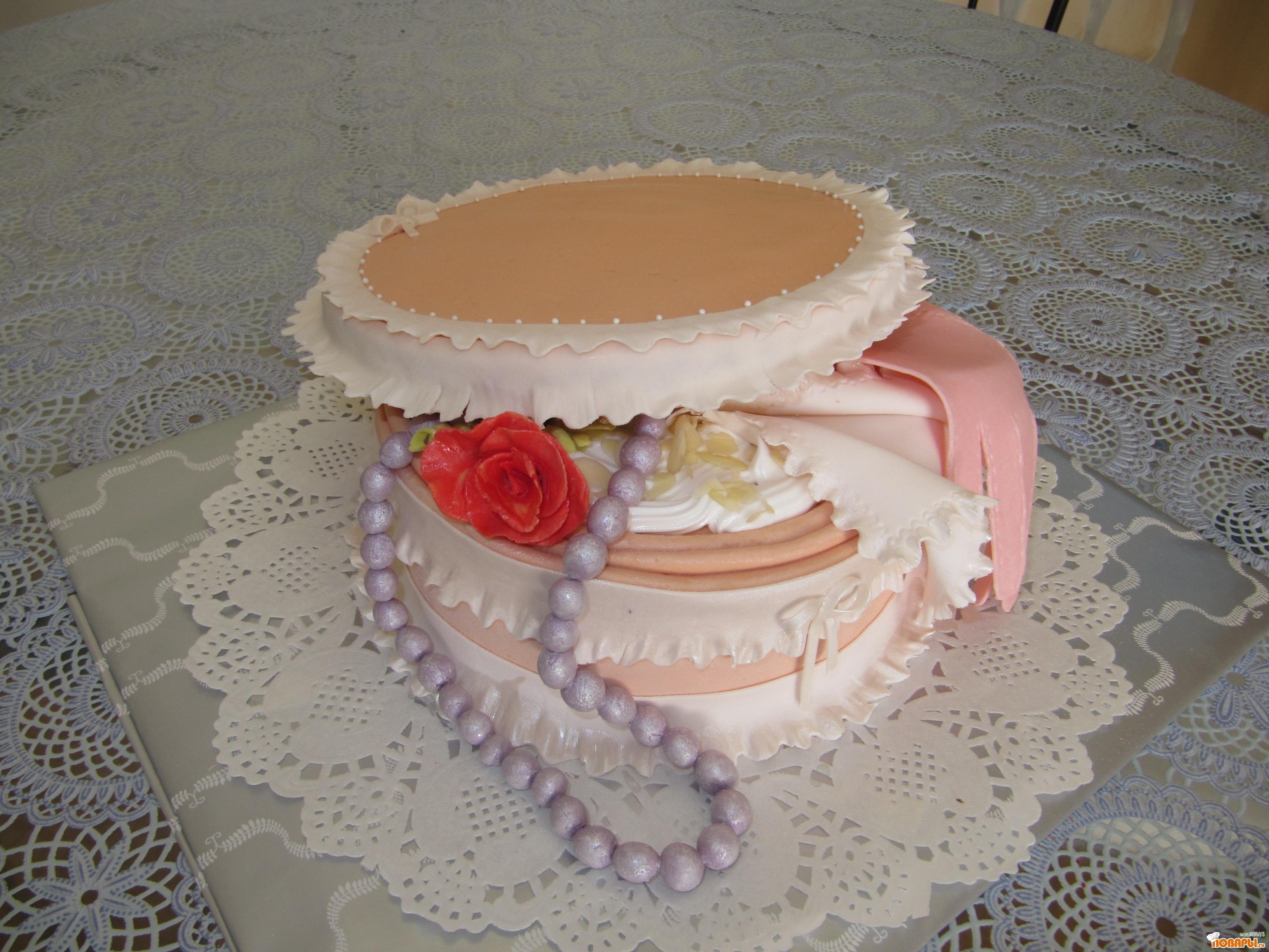 Торт из мастики пошаговый рецепт с в домашних условиях