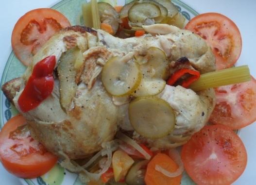 Рецепт Курица на пару со вкусом гриль
