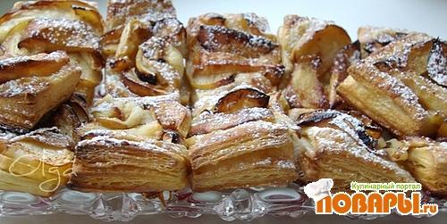 Рецепт Слоенки с яблоками