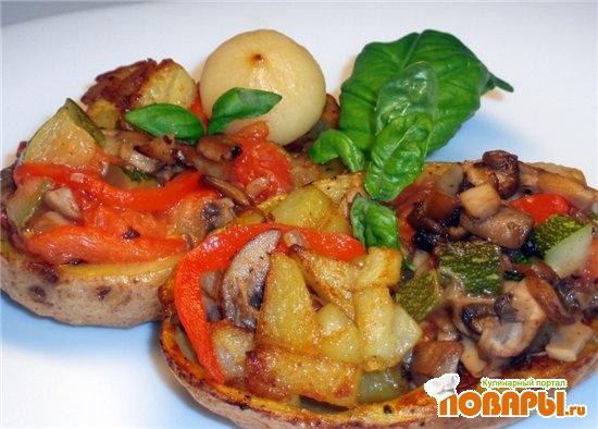 Рецепт Картофельные шлюпки