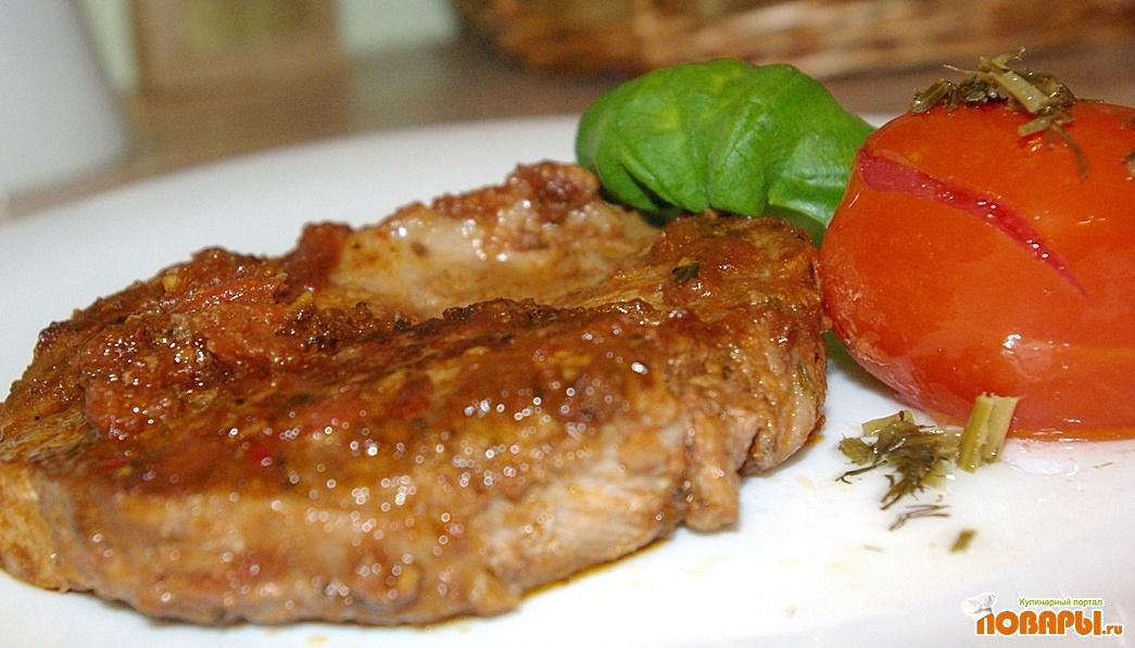 Рецепт Карбонад по-средиземноморски