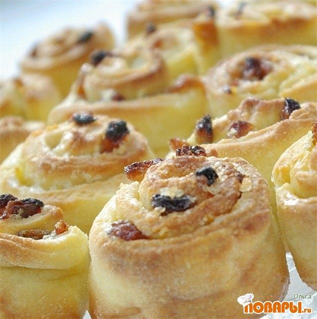 Рецепт Венок - булочки в фольге