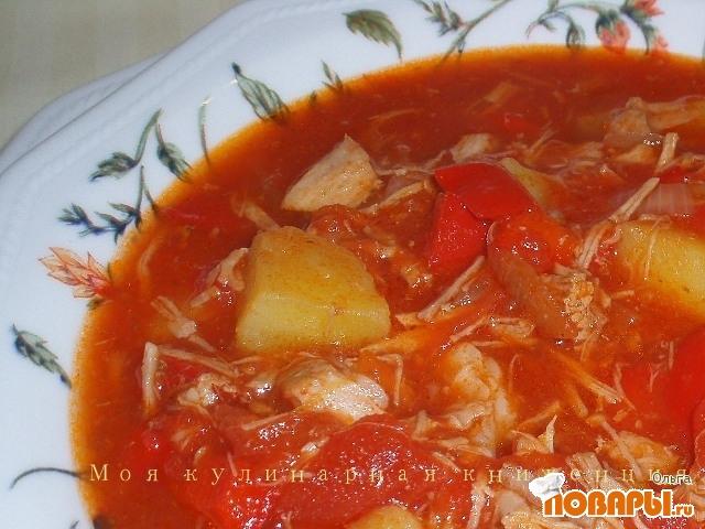 Рецепт Суп-гуляш в венгерском стиле