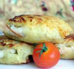 Пангасиус в картофельной корочке с соусом Мутар