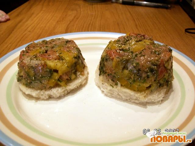 Рецепт Тартар из слабосоленого лосося