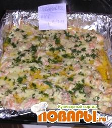 Рецепт Запеченая рыба с сыром и специями