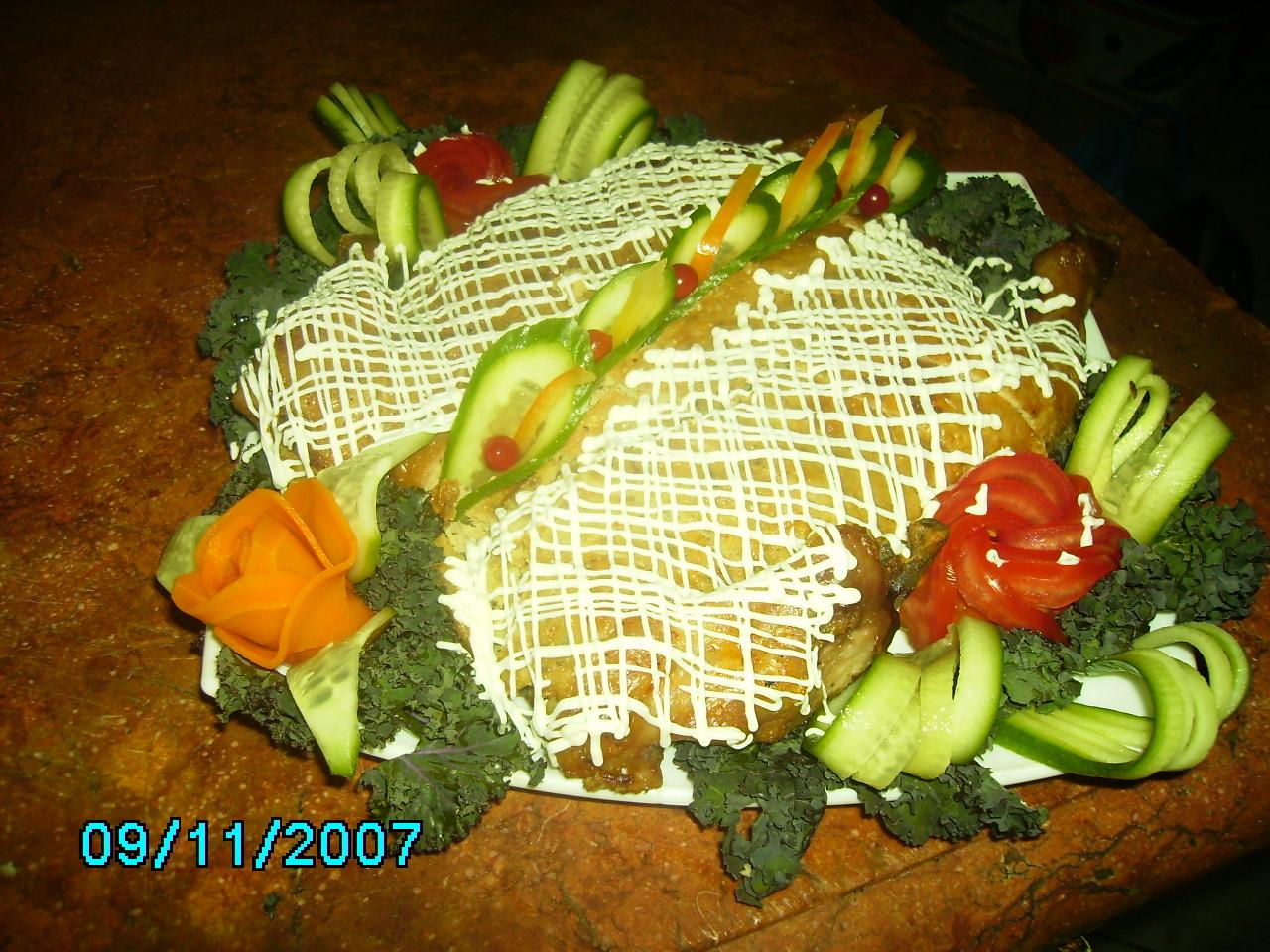 Рецепт курица фаршированная блинам