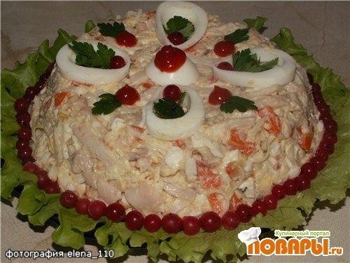 "Рецепт Салат ""Морской царь"""